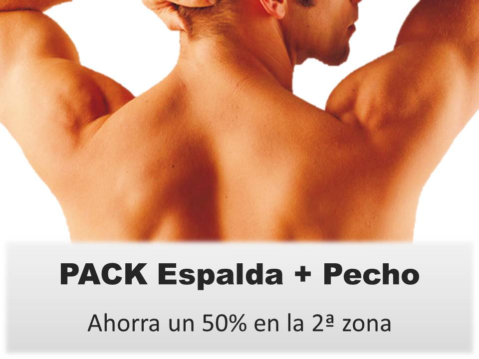 PACK Espalda+Pecho Hombre